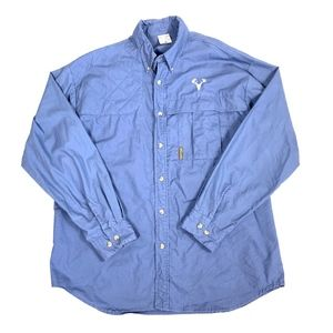 Columbia Outdoor Camping Hunting Button-Down Shirt